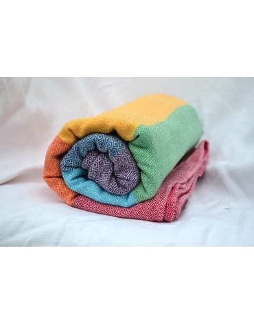 Ring Sling Girasol light rainbow